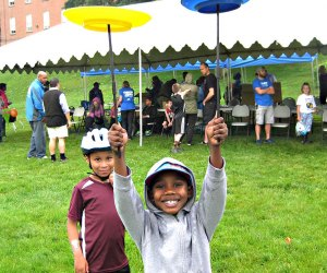 Celebrate the Hudson RIver and have a blast at the Riverdale RiverFest. Photo courtesy of the event