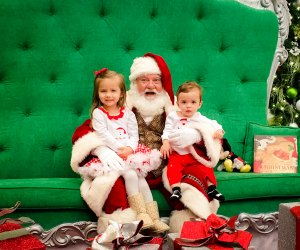 Photos with Santa at the Galleria make the perfect holiday tradition./Photo courtesy of Shary Peck.