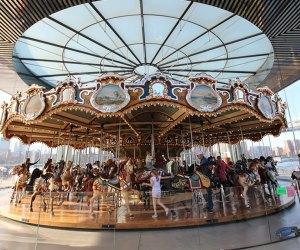 Jane's Carousel in Brooklyn Bridge Park