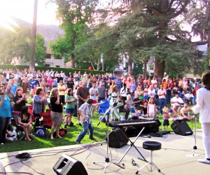 Sierra Madre Concerts in the Park. Photo courtesy of City of Sierra Madre