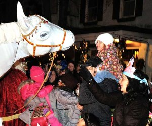 Join the parade festivities at the Sinterklaas Festival in Rhinebeck. Photo courtesy of the festival
