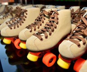 The DiscOasis at South Coast Botanic Garden: Rollerskates