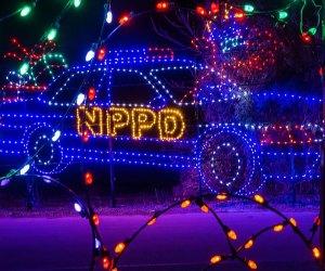Skylands Stadium Christmas Light Show has plenty of festive themed displays