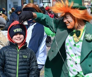 There are plenty of characters out at the St. Patrick's Day Parade in Stamford. Photo courtesy of the event