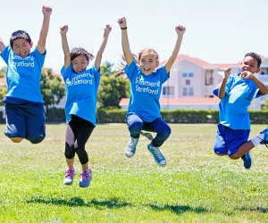 <i>Summer@Stratford infuses its STEAM (Science, Technology, Engineering, Arts, and Math) curriculum into an innovative summer camp experience. </i>