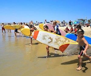 International Surf Festival. Photo by Joel Gitelson courtesy of the festival