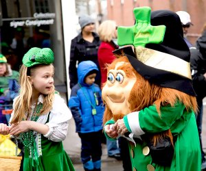 Go green at the Sussex County St. Patrick's Day Parade in downtown Newton. Photo courtesy of the Sussex County St. Parick's Day Committee