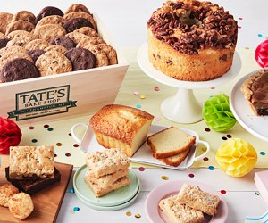 Cake, Cupcake, & Cookie Delivery Services: Tate's Bake Shop Birthday Basket
