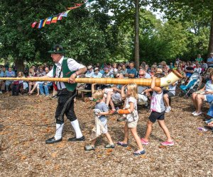 Head to the Morton Arboretum for a trip around Europe at the Passport Europe Festival on Saturday and Sunday, September 21 and 22. Photo courtesy of the arboretum