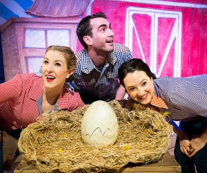 The Treehouse Shakers return to the LICM theater with Hatched.  Photo by Christopher Duggan for LICM