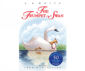 Trumpet of the Swan cover art best kids' books