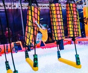 Urban AIr Ninja Course Indoor Obstacle Courses, Ninja Warrior Training, and Aerial Arts for NJ Kids