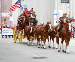Celebrate our veterans at the annual Veterans Day Celebration Parade./Photo courtesy of the City of Houston.