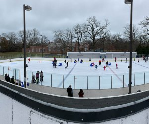 Watts Center's ice skating rink