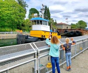 Things To Do in Seattle with Kids: Ballard Locks