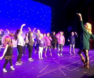 Join Westchester's finest musical theater instructors onstage and learn a song and dance at the Free Musical Theater workshop at the Chappaqua Performing Arts Center. Photo courtesy of Chappaqua PAC