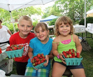 Get your fill of Jersey-fresh berries at the West Cape May Strawberry Festival. Photo courtesy of Exit Zero
