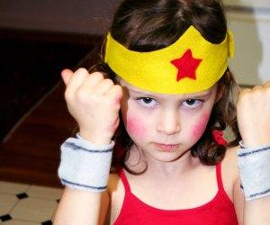 Kids' Halloween Costume Ideas: Wonder Woman