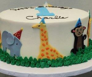 World Catering Houston birthday cake