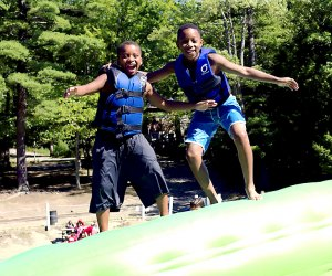 <i>New York City's YMCA offers a day camp and sleepaway camp just 90 miles from the city, plus 70 camp sites across the boroughs.</i>