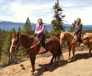 Things To Do with Kids in Lake Tahoe: Go horseback riding