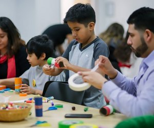 Do a family art project at Zimmerli Art Museum. Photo courtesy of the museum