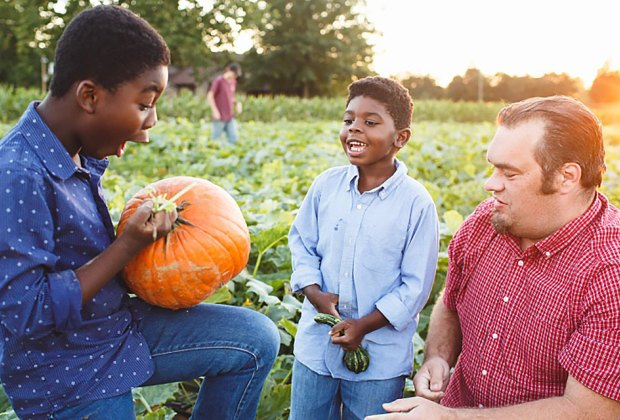 Pick pumpkins and enjoy other fall fun every weekend at Johnson's Corner Farm.