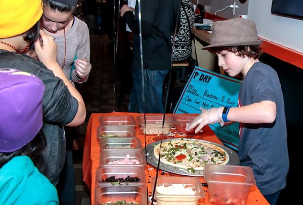It's all about pie at Princeton's Pi Day celebrations! Photo courtesy of the event
