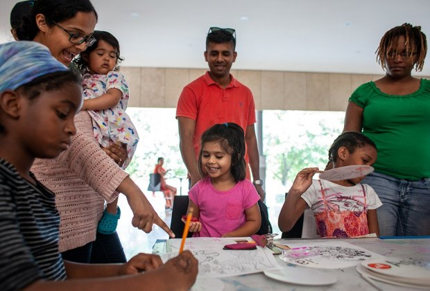 Learn all about the Islamic culture and Houston's Muslim community at this special Family Day showcasing Eid al-Fitr./Photo courtesy of Asia Society, Texas.