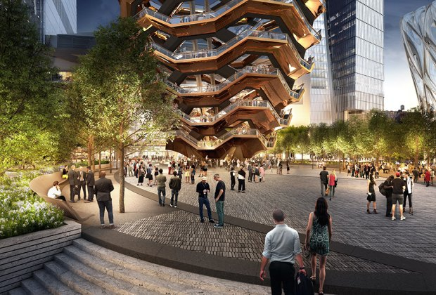 Larger-than-life art piece The Vessel will be New York City's next public landmark. Courtesy of Visual House by Nelson Byrdwoltz