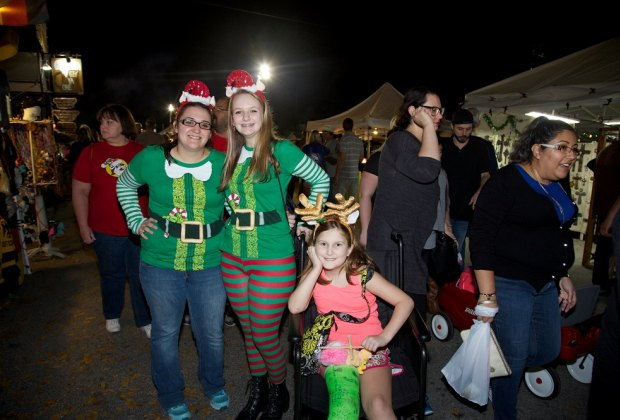 There's fun for all from morning til night at the Tomball German Christmas Festival & Market/Photo courtesy of Tomball German Fest