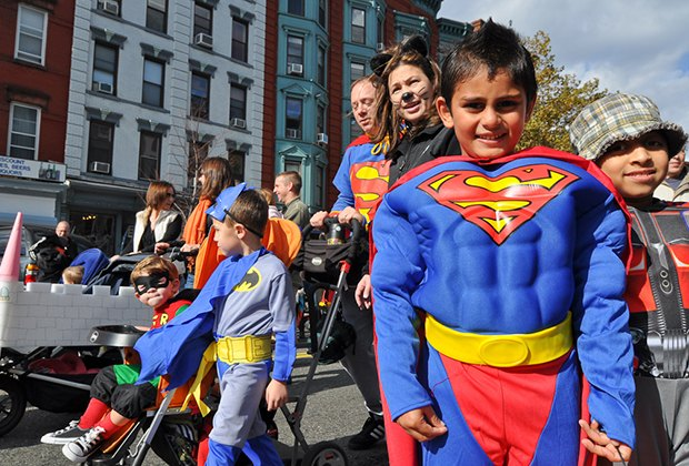 Hit the streets for the Ragamuffin Halloween Parade in Hoboken. Photo by John Dalton