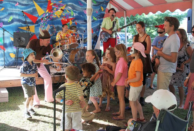 Clearwater's Great Hudson River Revival offers tons of fun for kids. Photo by Jim, the Photographer via Flickr