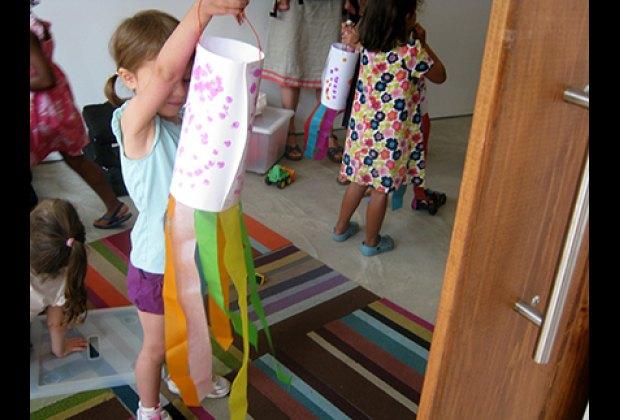 My daughter was very proud of her paper octopus