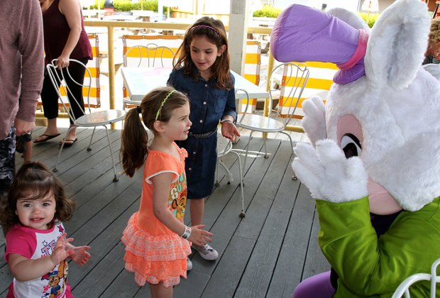 Morey's Piers is hopping with Easter Sunday celebrations, including an egg hunt and much more. Photo courtesy of Morey's Piers
