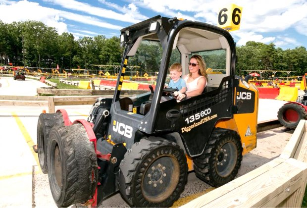 Get discounted admission on Mother's Day at Diggerland USA. Photo courtesy of Diggerland