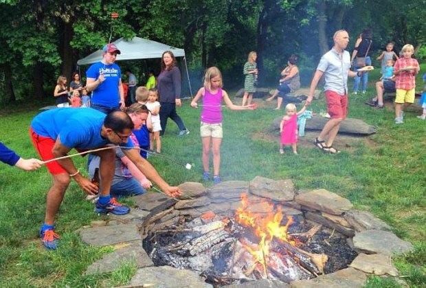 S'mores & More. Photo courtesy of Riverbend Environmental Education Center
