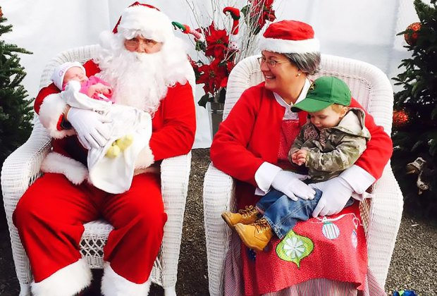 Head to Abma's Farm to visit Santa and Mrs. Claus. Photo courtesy of the farm
