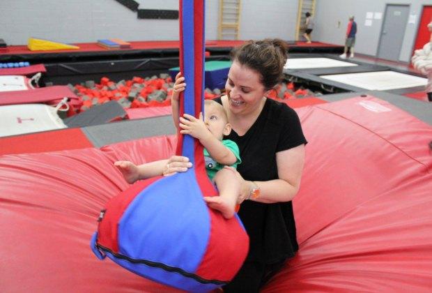 Baby Ninja Class. Photo courtesy of The Agility Center