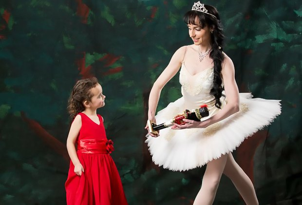 Begin a truly special holiday season with Ajkun Ballet Theatre's magical Nutcracker suite. Photo courtesy of the ballet