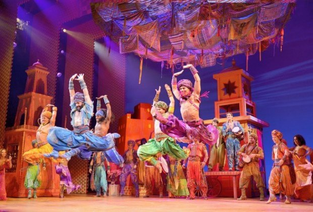 Aladdin is on stage through August 5th. Photo courtesy of the Boston Opera House