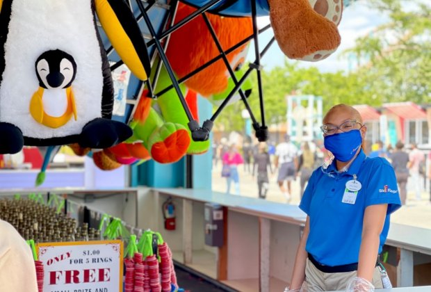 Have a Blast at Six Flags Magic Mountain with Kids of All Ages: Games