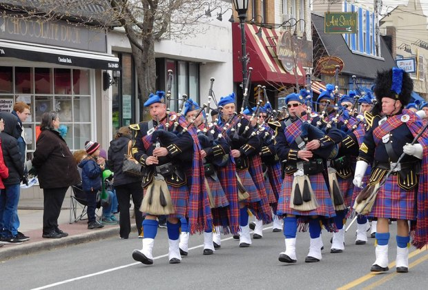 Farmingdale is of several LI communities celebrating Irish culture this weekend. Photo courtesy of the parade organizers