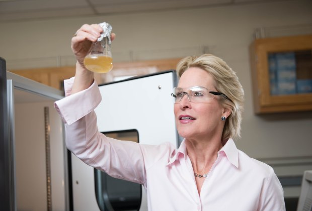 Local mom and Nobel Prize winner Frances Arnold, photo courtesy of Caltech