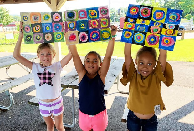 Unleash your inner artist at Art In the Park in Stony Point on Friday. Photo courtesy of Art x design