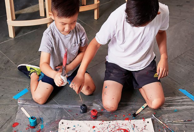 Head to the MOMA Design Store for some family art-making. Photo courtesy of the store