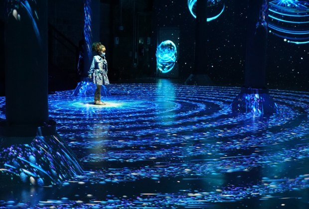 Artechouse's Celestial is a stunning artistic installation to visit over midwinter break