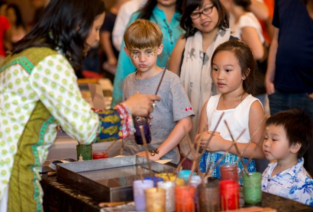 Immerse yourself in the Asian culture during Asia Fest, a day packed with interactive cultural activities and events./Photo courtesy of Asia Society.