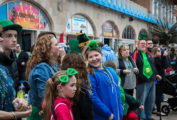 Celebrate Irish pride at Atlantic City's 1oth annual St. Patrick's Day Parade on March 10. Photo courtesy of the parade