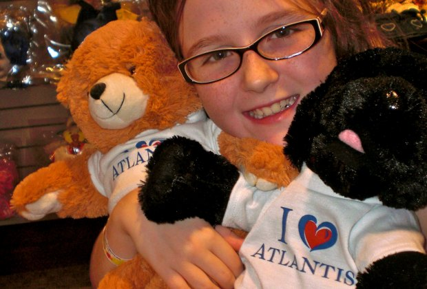 At Atlantis Pals kids can make a friend to bring home.